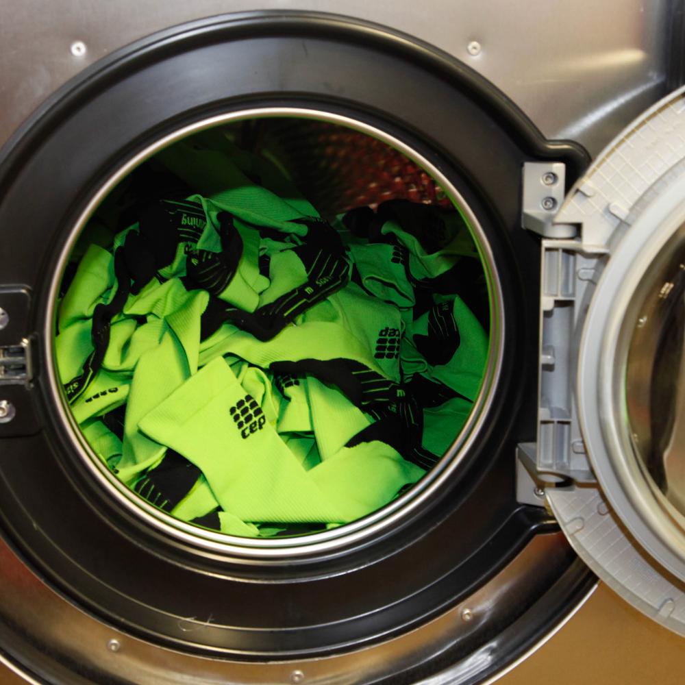 Aantrekken en wassen